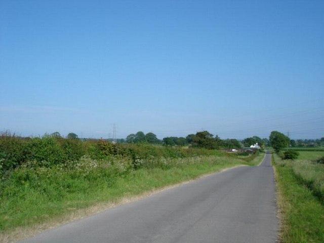 Lane at Pen y Cefn