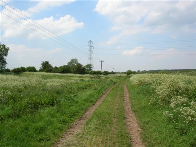 Bridleway along the Ouse
