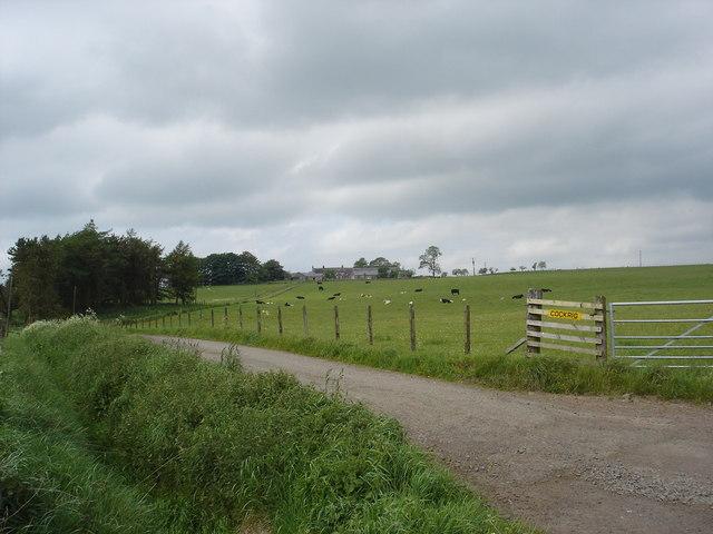 Cockrig Farm near Forth Lanarkshire