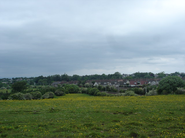 Housing and Railway on south side of Carluke