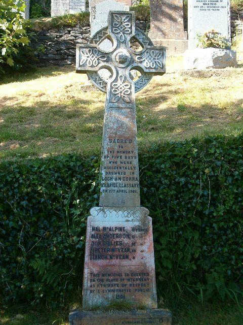 Lochan Curaich Memorial