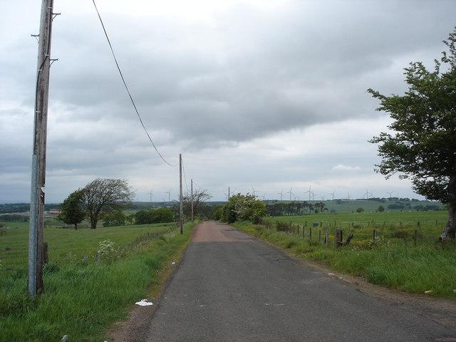 Roman Road near Kilncadzow, Lanarkshire