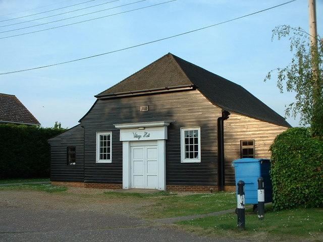 Village hall, North Wootton.