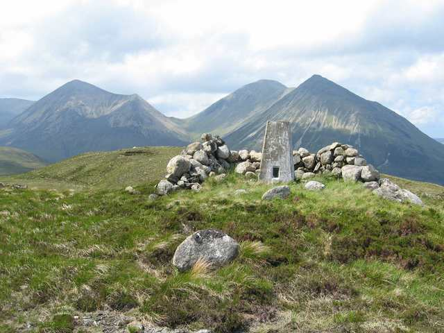 Summit of Meall a' Mhaoil