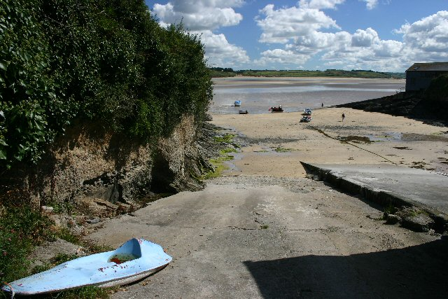 Slipway at Hawker's Cove