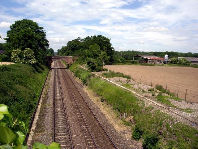 Romsey to Salisbury railway