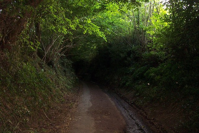 Appropriately Named Dark Lane