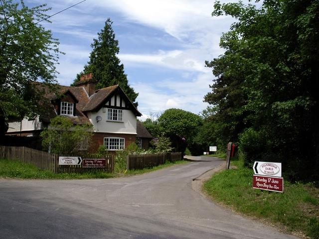 Rear entrance to Stanbridge Earls School