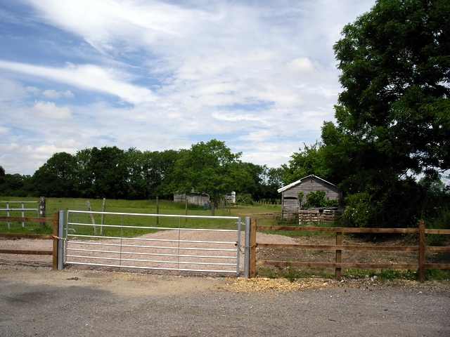 Smallholding on north side of Old Salisbury Lane