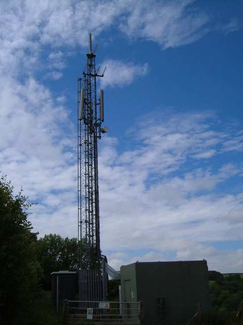 Transmission mast at Harbertonford