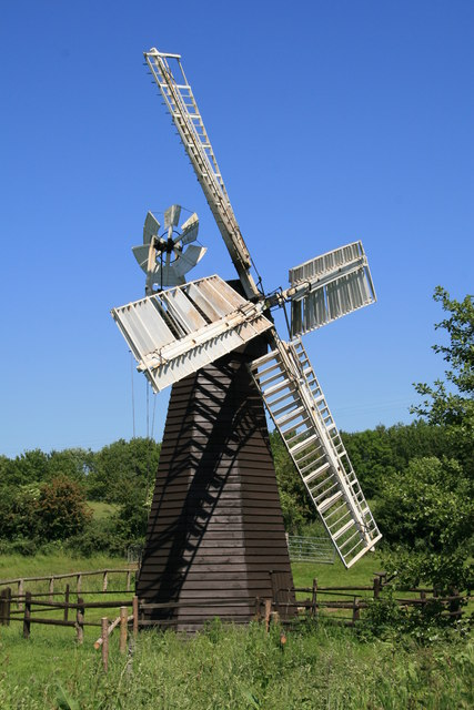 Eastbridge Windpump, Museum of East Anglian Life
