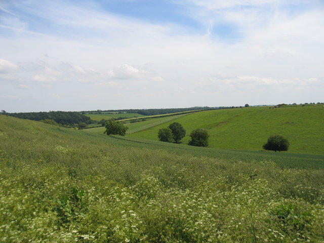 View from the Macmillan Way