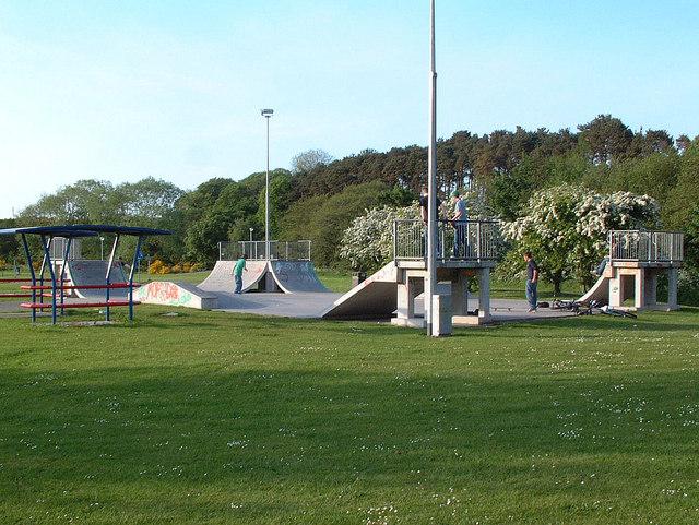Skatepark, Nairn