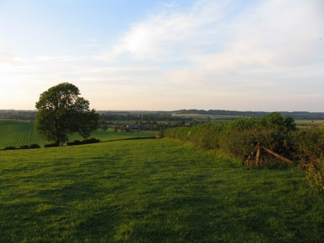 View towards Oakham and Burley