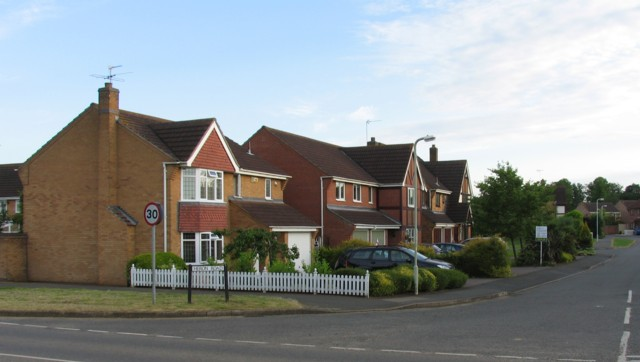 Houses on Heron Way