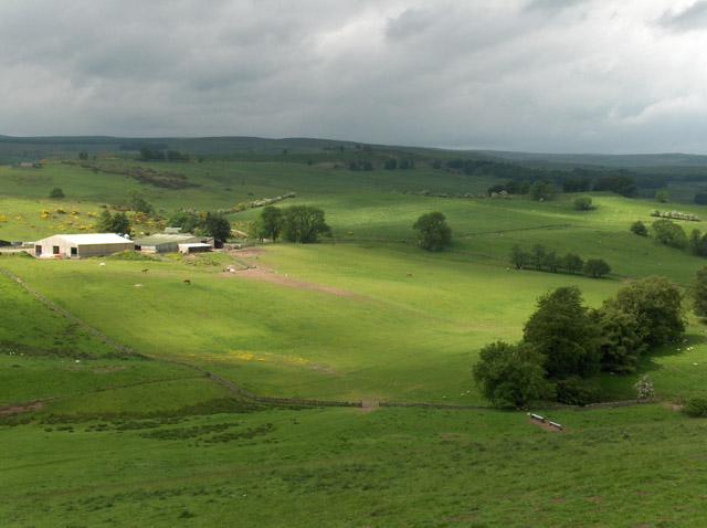 Murrayshall Farm and Castlehill