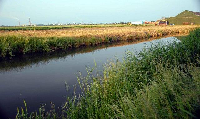 King's Dike (Drain), Stanground, Peterborough