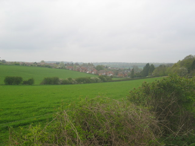 South Overton from the North Waltham Road