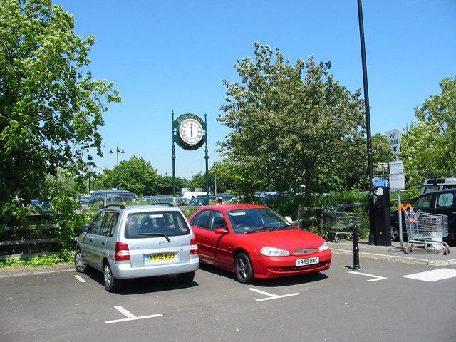 Car park Ringwood Hampshire