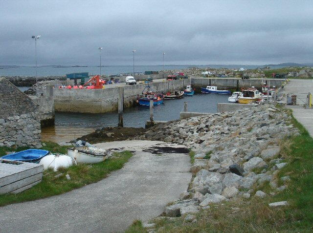 Berneray Harbour