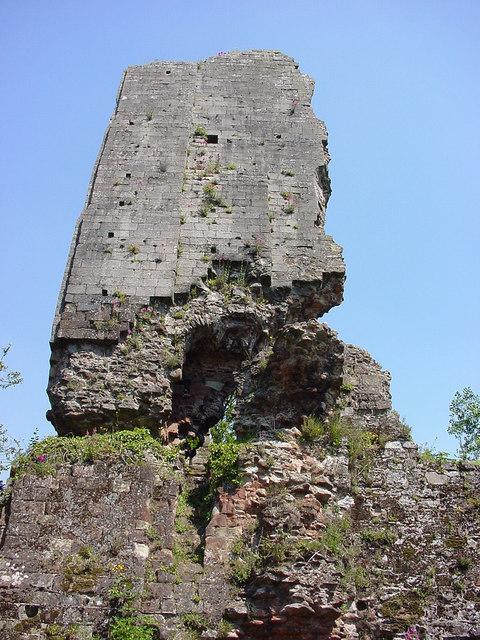 Tower of Bridgnorth Castle keep