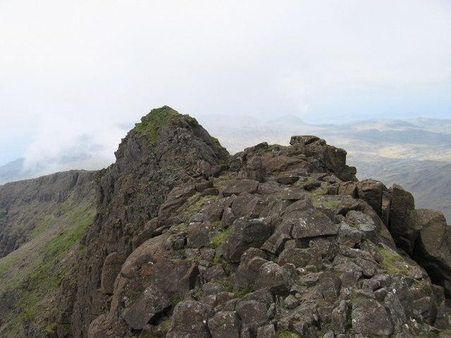 Trollavals two peaks