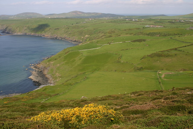 Porth Ysgo from Mynydd Penarfynydd