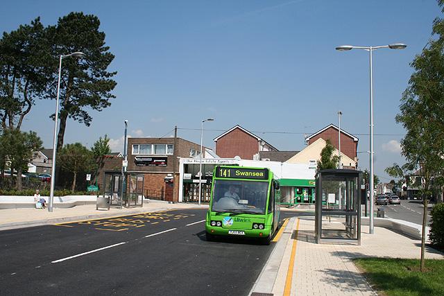 Gorseinon: bus station