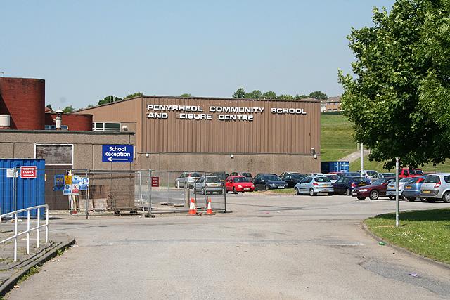Gorseinon: Penyrheol School and Leisure Centre
