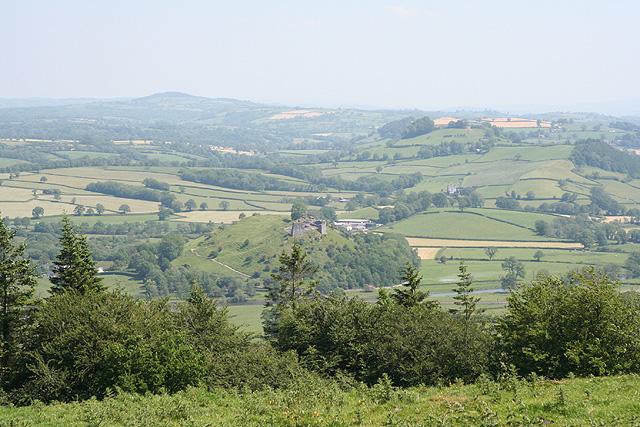 Near Glascoed: view from Paxton's Tower