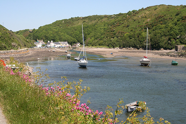 Solva: the harbour