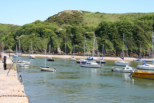 Solva: the harbour