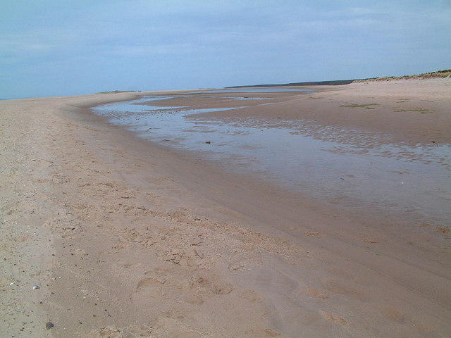 Tidal Channel at Nairn
