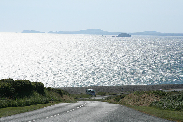 Nolton and Roche: approaching Newgale Sands