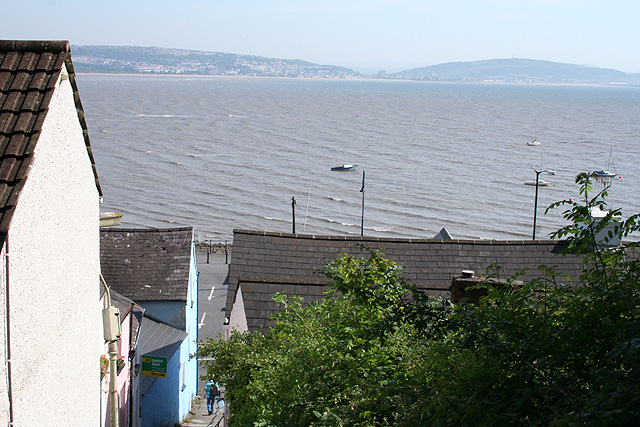 The Mumbles: view to Swansea