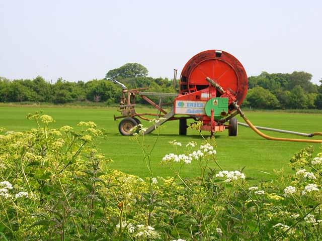 One enormous garden hose