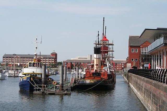 Swansea: marina