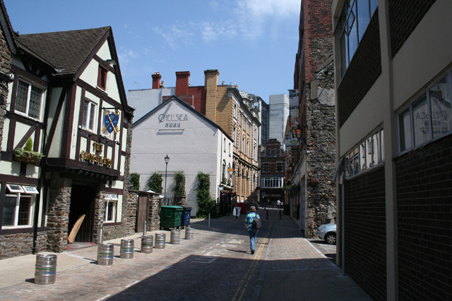 Swansea: St Mary Street