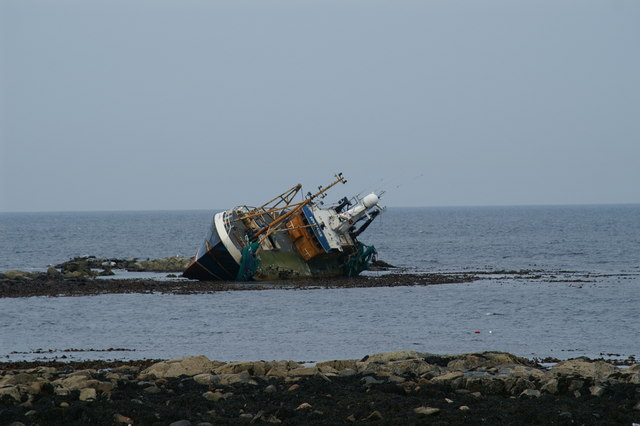 Shipwreck at Cairnbulg