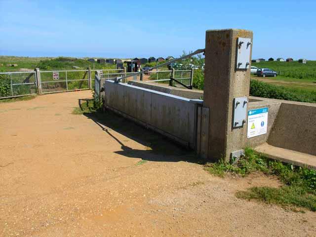 Flood defences at Walberswick