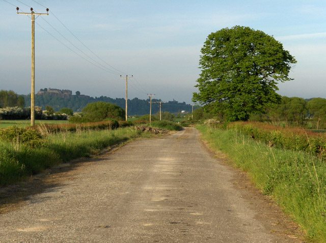 The old road at Touch