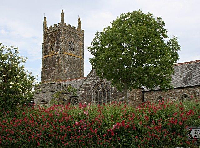 St Newlyn East Church