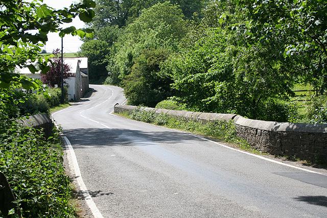 Ilston Community: the B4271 at Llethrid Bridge