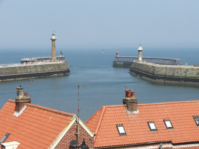 Whitby Harbour Entrance.