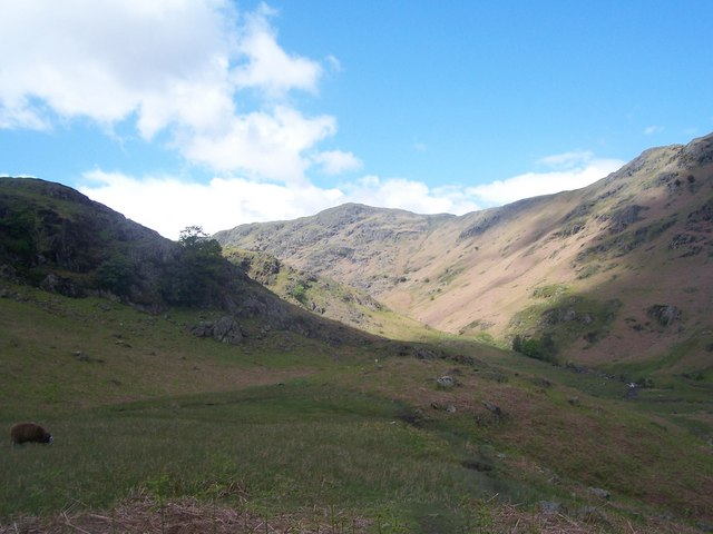 Far Easedale with Stenner Crag & Gibsons Knott