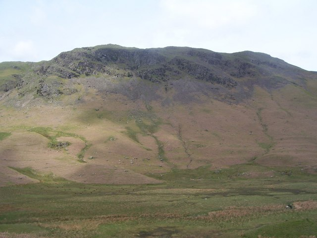 Blakerigg Crag from Greenburn bottom