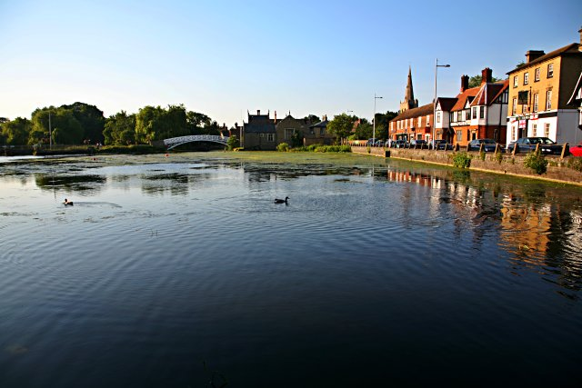 River Ouse at Godmanchester