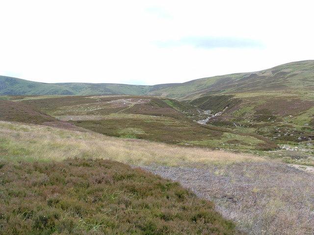 The path to Glen Devon