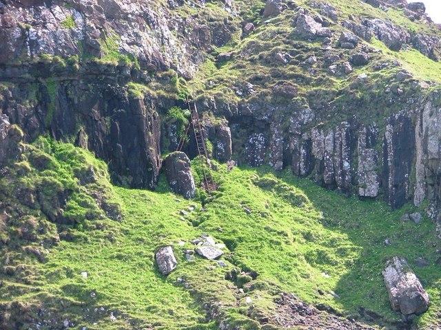 Footpath From Burg, Ladder