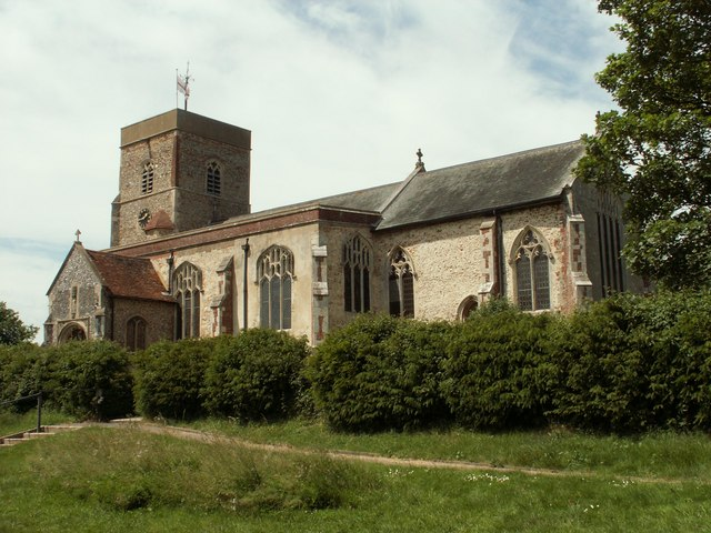 St. Mary's church, Capel St. Mary, Suffolk
